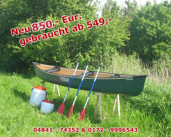 nord kanu verkauf gebrauchte kanus aus kanuvermietung. Black Bedroom Furniture Sets. Home Design Ideas